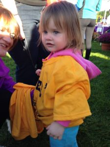Remy at the Alzheimers Walk