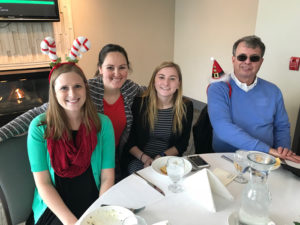 staff at carrier's cavalry christmas celebration