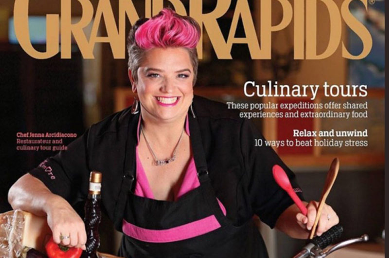 Grand Rapids chef Jenna Arcidiacono