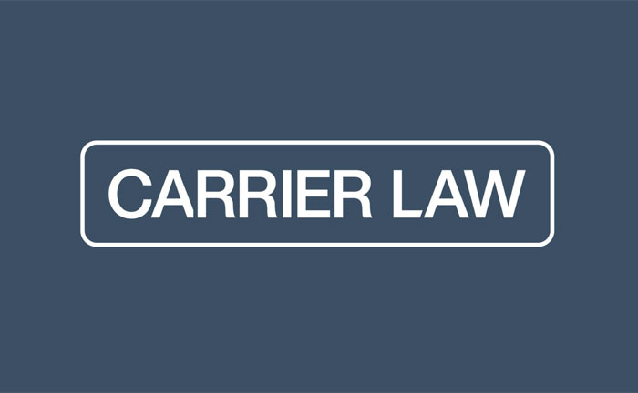 david carrier law name change carrier law