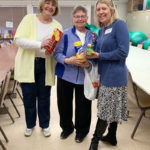 kris cleary of carrier law with northview senior center bingo participants