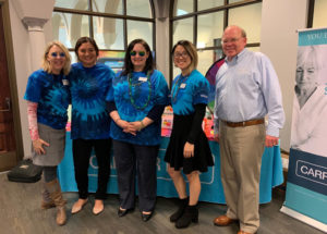 carrier law staff at the peace, love and aging conference