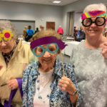 senior attendees at the council on aging kent county's peace, love and aging conference