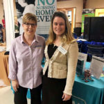 carrier law portage attorney samantha sprague and portage senior center manager kim phillips