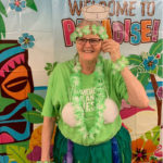 attendee of the life's a beach 2019 boomer bash in allegan, michigan