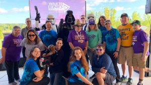 Carrier Law at the Walk to End Alzheimers