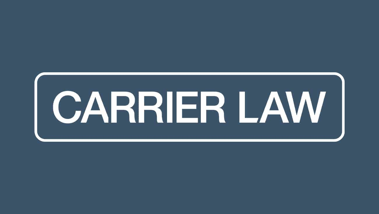 Carrier Law Health Care Power of Attorney