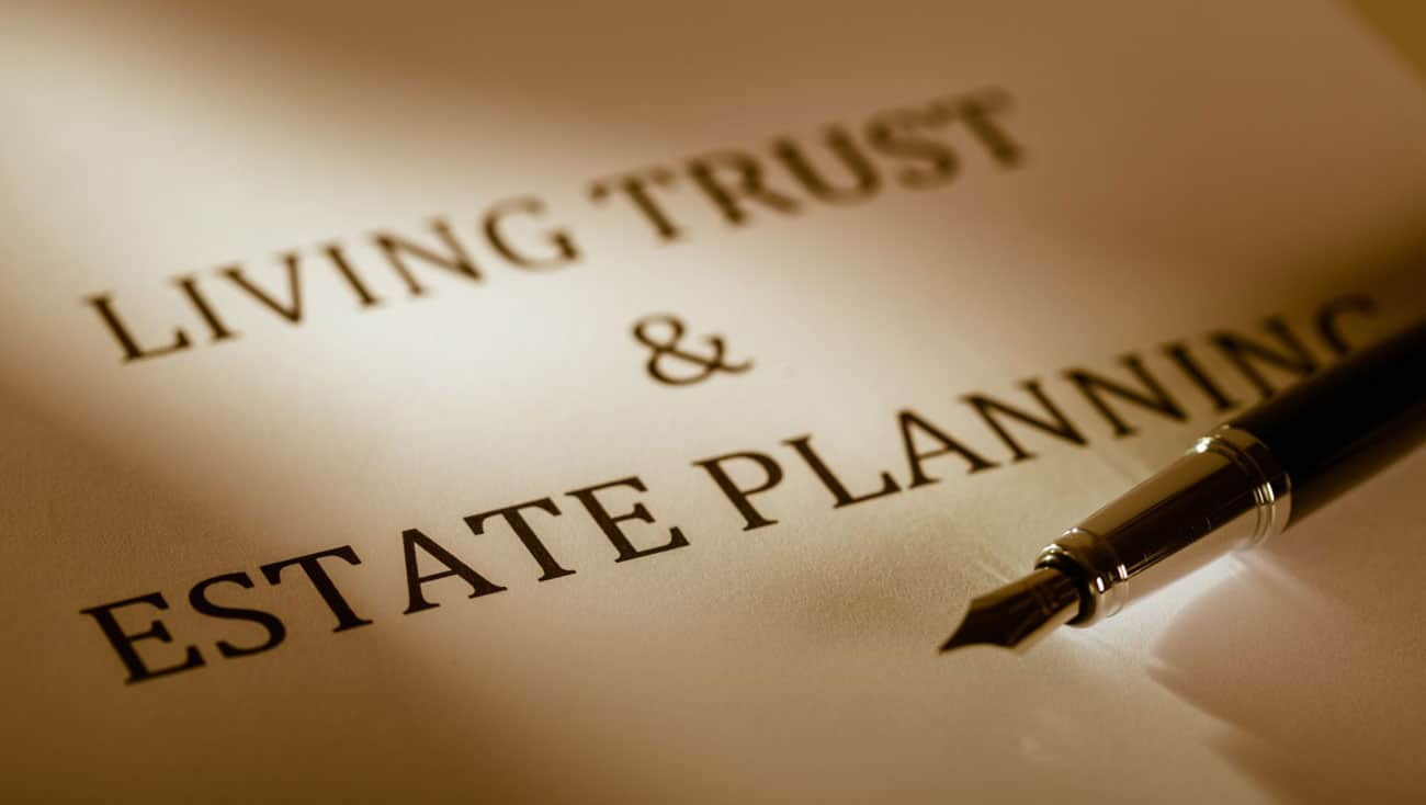 estate planning and living trust document