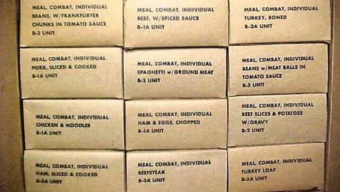 c-rations military ready to eat meals